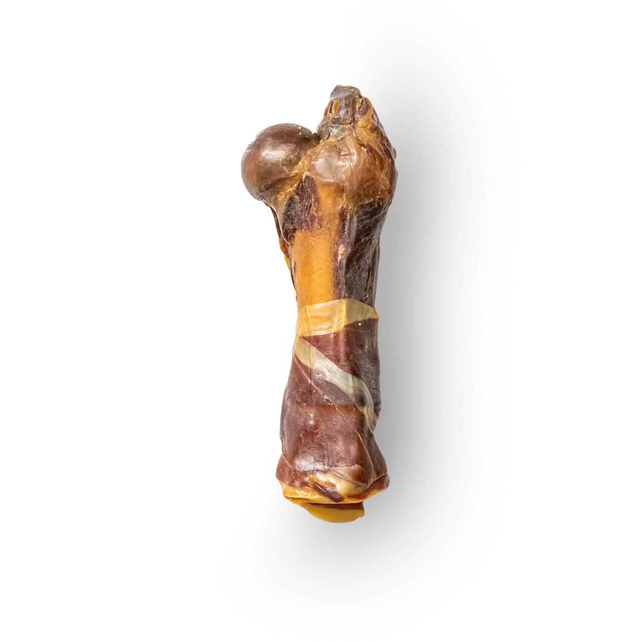 Half Ham Bone Serrano With Jamon | Tasty, Long Lasting, Single Ingredient, All-Natural Dog Chews |